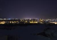 Nočná panoráma / sekundárny prvok vizuálnej komunikácie
